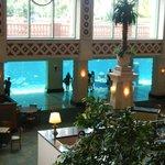 Aquarium in the Lobby