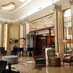 The art nouveau lobby. Grand!