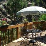 Seasonal patio seating
