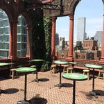 Awesome rooftop terrace and bar