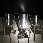The symbolic chairs in the cellar