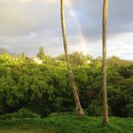 Rainbow from Alii Kai in Princeville