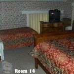 Room 10 at the Colonial Inn & Motel