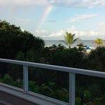 Beautiful rainbow as we ate breakfast