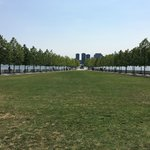 Four Freedoms Park view from south
