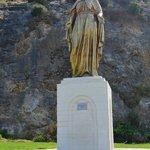 статуя Девы Марии по дороге к Дому