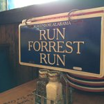 Oh so from my review its not bubba run its run forrest run hahaha