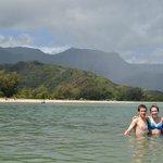 The siblings in Hanalei Bay!!!
