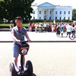 Me on Segway in front of White House