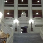 Inside the Capital Bldg.