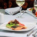 Fish in cocona sauce Restaurant Terrace Aguaymanto