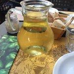 1 litre house white wine