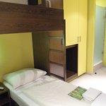 Zimmeransicht mit Bett