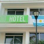 FRENTE DEL HOTEL EL DIA DE LA FINAL ARGENTINA-ALEMANIA