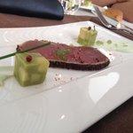 Thon avocat concombre wasabi