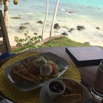 delicious island breakfast with a view!!