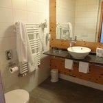 Bathroom with towel warmer...