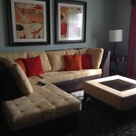 Wraparound sofa bed