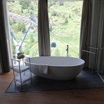 Huge, awesome tub.