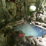 Amazing secret spa under the hotel