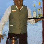 Our amazing waiter, Ruben!
