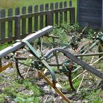 Old farm machines