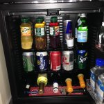 Minibar--Don't touch unless you're buying!