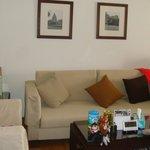 the living room studio
