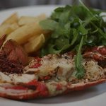 We served fresh local food, prepared well and simply, in friendly surroundings.