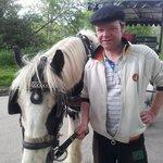 Patrick & his horse Casey