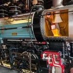 Full Sized Steam Locomotive Cutaway