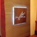 Saffron restaurant entrance