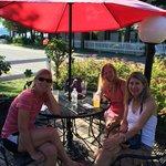 Outdoor View Seating of Lake Michigan