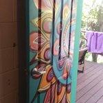 Art on the doors