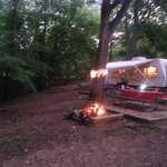 our spacious campsite