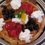Red, White & Blue Waffle