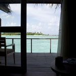 View from inside our room