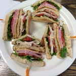The best club sandwich ever!!