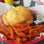 Pork Tenderloin and Sweet Potato Fries