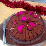 The Chocolate Torte - one of three desserts