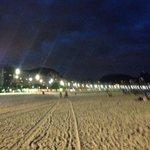 praia de copacabana, próxima ao hotel