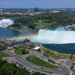 Niagara Falls and a Rainbow