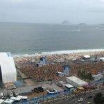 Fifa Fanfest before 1-7 Brasil vs Germany
