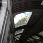 Through the skylight window