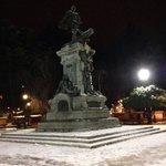 Monumento de Magallanes en Invierno!