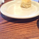 One Cracker Barrel biscuit ... Add apple butter to make it perfect !
