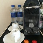 Daily water and Keruig area in room