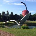 Spoonbridge and Cherry. Minneapolis Sculpture Garden