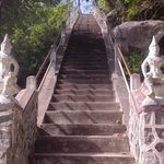 steps up the temple