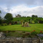 View of the Rock of Cashel from the garden